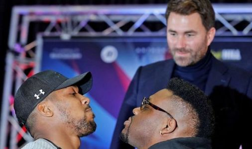 Boxing news: Anthony Joshua's FIVE-word response to Jarrell Miller failing drugs test
