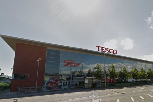 Pensioner found dead inside car at Scots Tesco store as cops launch probe