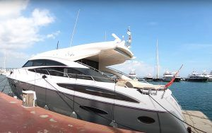 Princess V72 yacht tour: Supersize sportscruiser is all glamour, no compromise