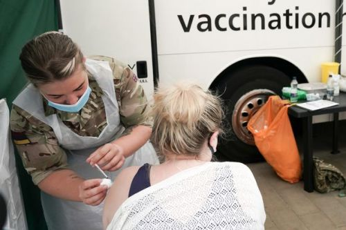 Covid vaccine buses to visit festivals and football matches in bid to get teens jabbed