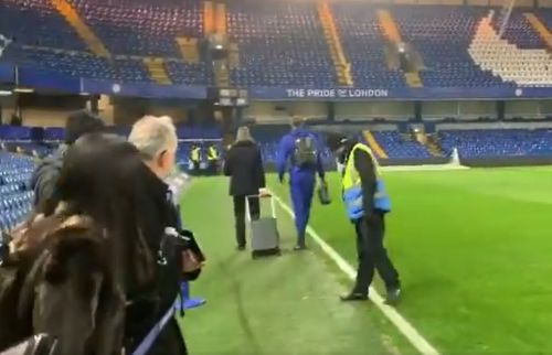 : Tammy Abraham walking after ankle injury