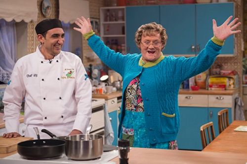 Who is All Round to Mrs Brown's Chef Aly?