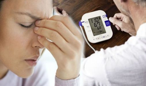 High blood pressure: Experiencing a strange sensation in your nose could be a warning sign