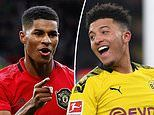 Marcus Rashford admits he'd love to see Jadon Sancho join Manchester United