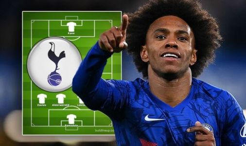 How Tottenham could line up after sealing Willian transfer and two other deals