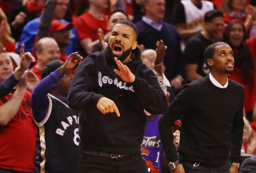 Drake explodes with excitement as Toronto Raptors make it to NBA finals breaking all the rules