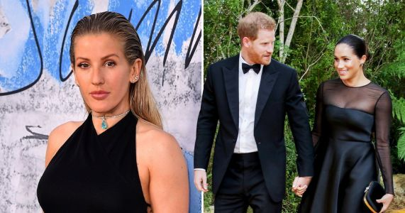 Ellie Goulding has invited some of the royals to her wedding. but Harry and Meghan probably won't be there
