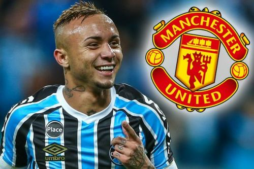 Brazil star Everton Soares sends Man Utd transfer message after Copa America goal