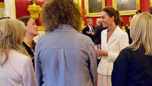 Kate Middleton's £400 cream dress is unreal