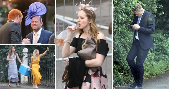 Spirits high at Ascot as revellers down last dregs from bottle of rose