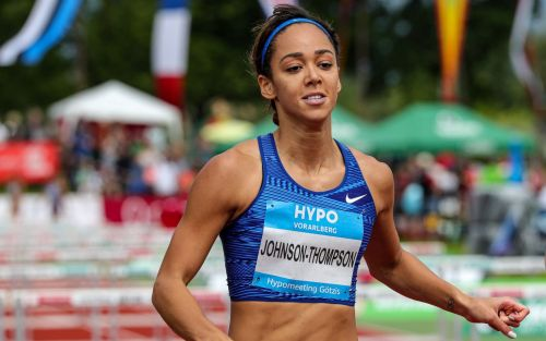 Katarina Johnson-Thompson guards against complacency after building huge heptathlon lead on day one in Gotzis