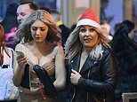 Festive drinker get warmed up for Christmas with boozy night on the tiles in Birmingham