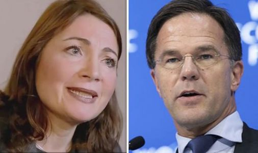Katya Adler corrects Dutch leader as he threatens Leavers with 'never ending trade deal'