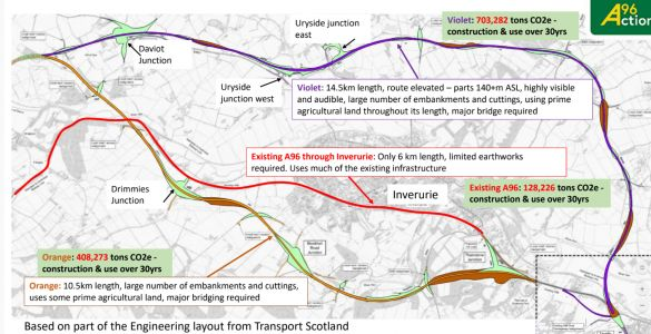 Campaign group unveil new vision for A96 dualling project
