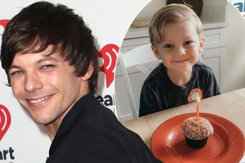 One Direction's Louis Tomlinson's son Freddie is so grown up in rare snap shared to mark birthday