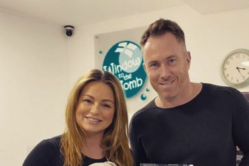 Ola and James Jordan say their lives have just begun after welcoming baby Ella
