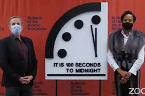 Doomsday Clock unchanged as world 'no closer to apocalypse' despite coronavirus
