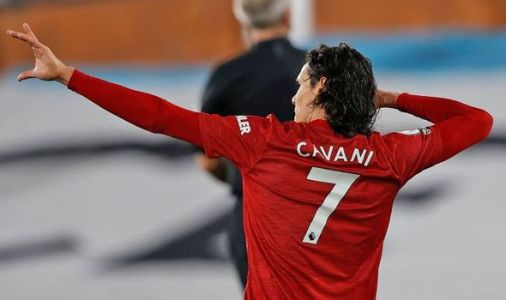 Manchester United boss Ole Gunnar Solskjaer has Edinson Cavani complaint after Fulham win