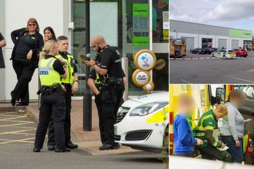 Children sprayed in face with 'unknown substance' in terrifying Co-op robbery