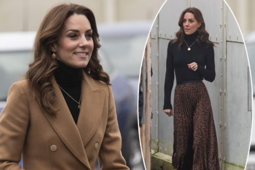 Kate Middleton steps out in a Zara skirt that costs just £9.99