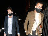 Nick Grimshaw, 36, makes a rare appearance with dancer boyfriend Meshach Henry, 23