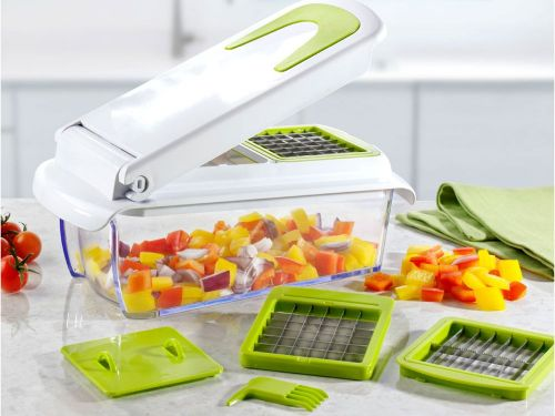 This affordable vegetable chopper has cut my meal prep time in half - here's why it's so handy