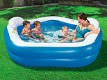 This family paddling pool is getting rave reviews from happy parents and it's on sale for under £40