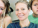Gwyneth Paltrow shares a rare shot of kids while working from home