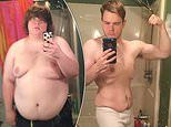 Obese man, 27, sheds 140lb and finds love after being likened to Family Guy's Peter Griffin