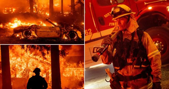 Smoke from wildfires is so huge it's actually helping army of firefighters