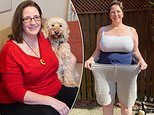 Mother who comfort ate after husband was bigamist with three wives loses two stone in 12 weeks