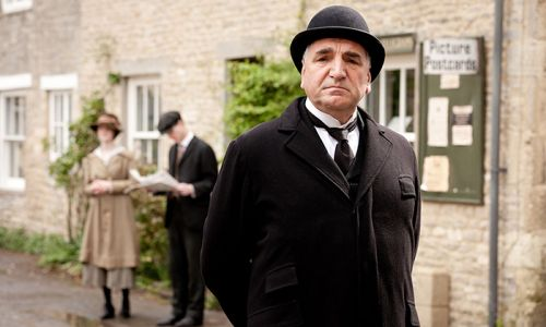 Meet Downton Abbey star Jim Carter's family - from co-star wife to children