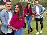 Katie Price's ex-husband Kieran Hayler packs on the PDA with his girlfriend Michelle Pentecost