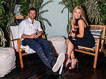 Tim Robards and Anna Heinrich lead the star-studded guests at Orana