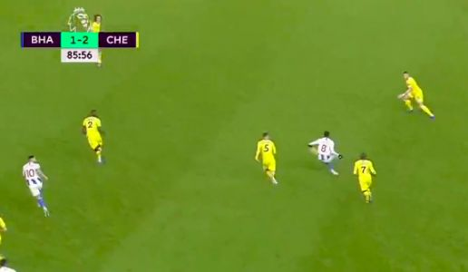 Why Chelsea's Marcos Alonso should have been sent off vs Brighton