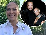 Jennifer Lopez says her wedding day to fiancé Alex Rodriguez has been 'affected' by coronavirus