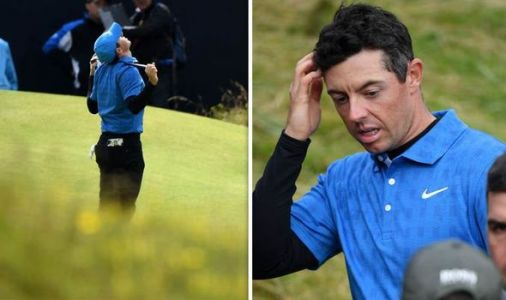 Rory McIlroy admits defeat after catastrophic first round at the Open