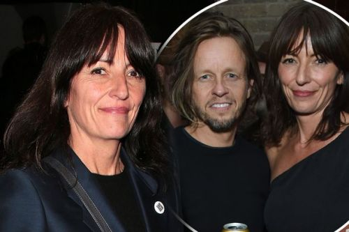 Davina McCall and hairdresser Michael Douglas make first public appearance together following 'dating' reports