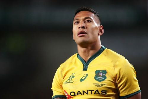 Israel Folau launches GoFundMe page to help pay legal fees after sacking over anti-gay post
