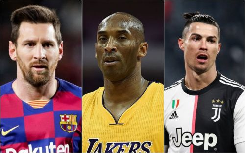 Lionel Messi and Cristiano Ronaldo pay tribute to Kobe Bryant after NBA legend dies in helicopter crash