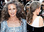 Andie MacDowell says her managers tried to talk her out of revealing her natural hair color