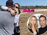 Lala Kent and Randall Emmett reveal they're expecting a girl through a skydiver's pink parachute