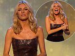 Tess Daly, 50, puts on a stylish display in a sequined jumpsuit as she kicks off Children In Need