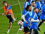 Real Madrid mean business in training for Club World Cup semi-final