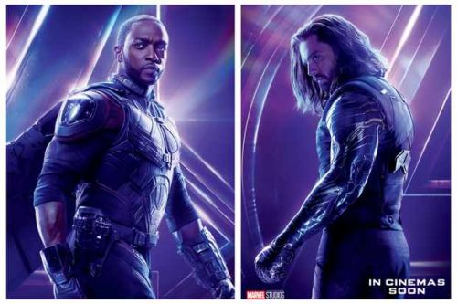When is The Falcon and The Winter Soldier TV series released on Disney+?