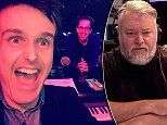 Hosts Chris Taylor and Andrew Hansen poke fun at Kyle Sandilands for being a no-show