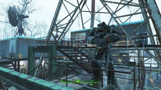 Massive Fallout 4 mod Northern Springs introduces a snowy new haunted land