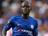N'Golo Kante a doubt for Chelsea's trip to Norwich after Frenchman picks up ankle injury