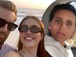 Amelia Gray Hamlin says she is 'thankful' for Scott Disick as she posts a photo with him