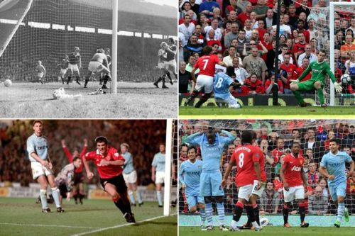 5 iconic Manchester derbies: From the 6-1 drubbing to Michael Owen's last-gasp winner